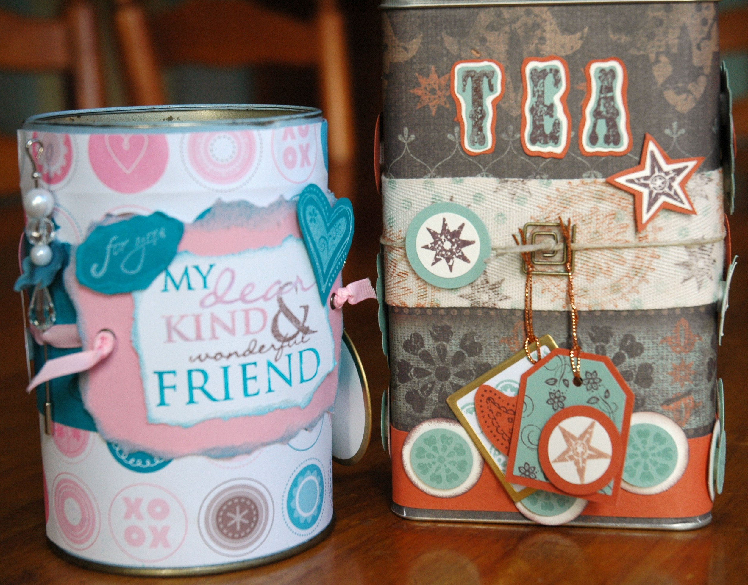 decorate a tin get some blog candy enchantink