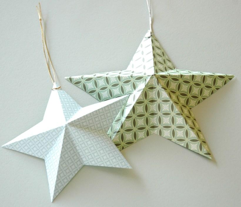 3-D Christmas Stars