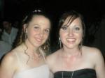 With best friend Brianna