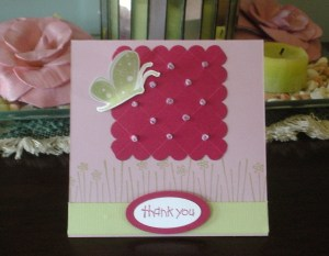 17. Finished Card