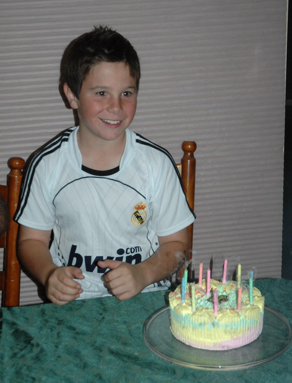 Sandy turns 11