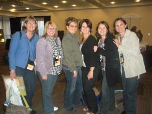 SU! Groupies! Julie, Andrea, Leonie, Anna, Sarah, Tracey