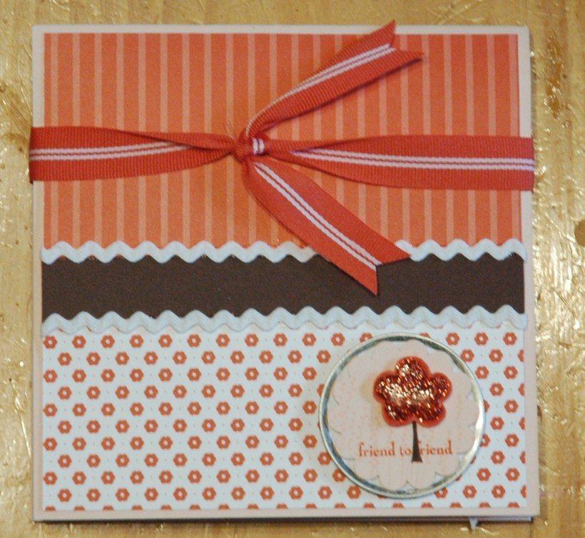 Folding Scrapbook - Trendy Trees
