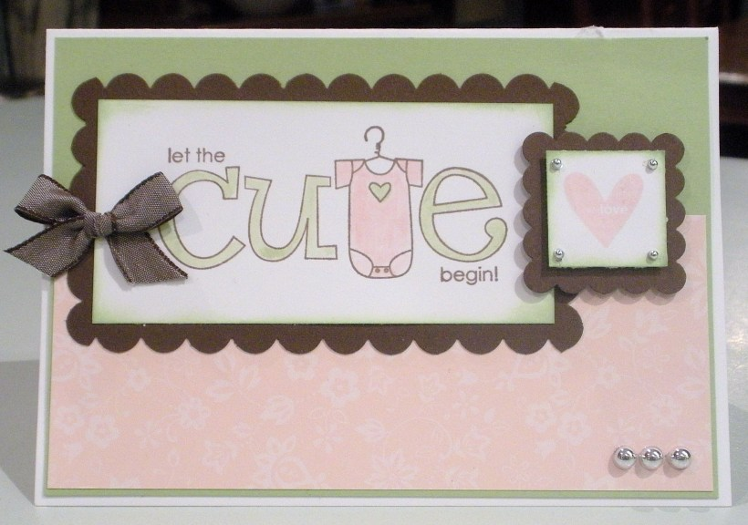 Big on Spring Baby Card