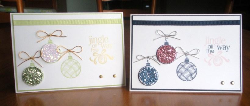 Christmas Classics Ornaments x 2