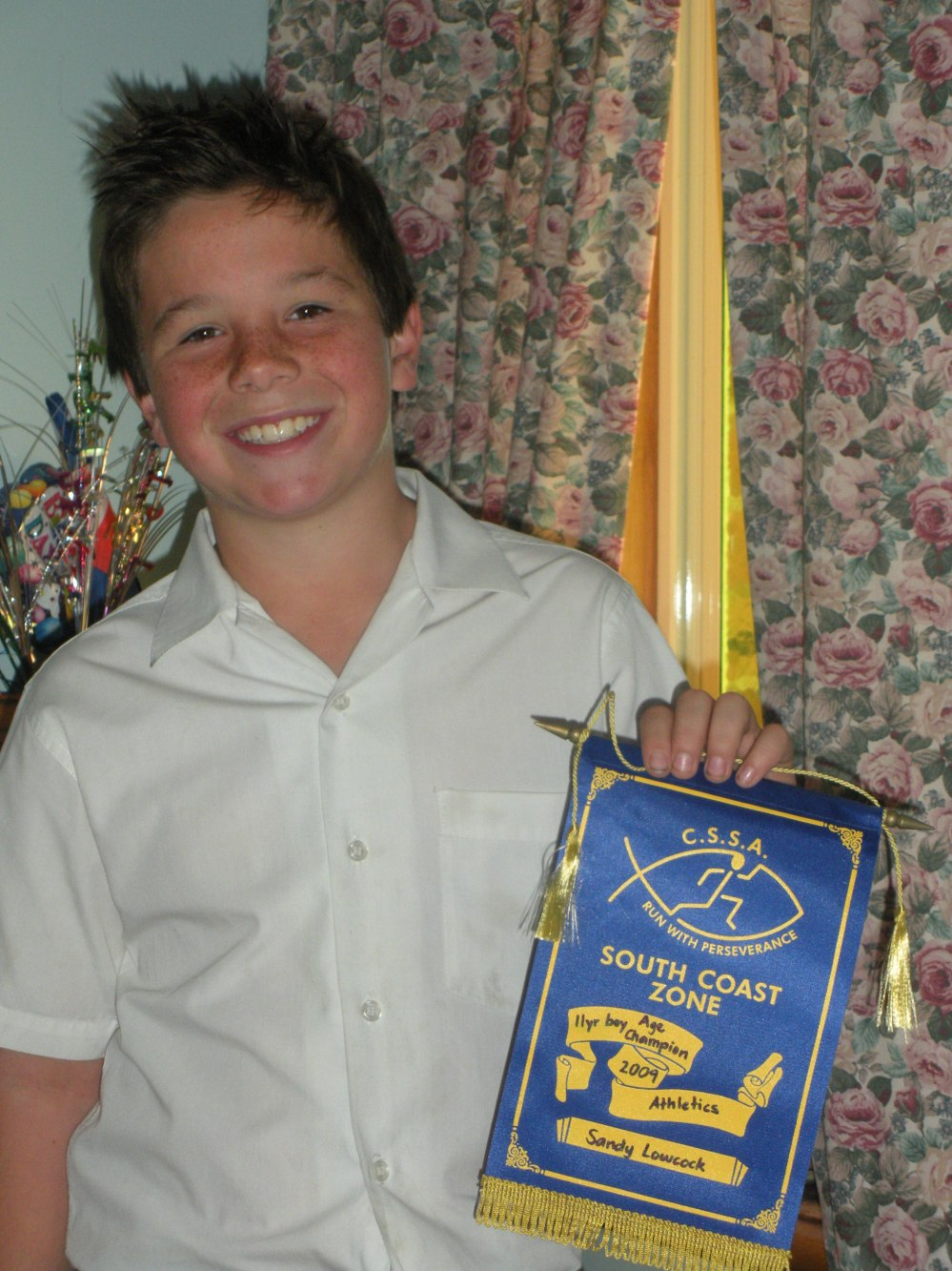 Sandy - 11yr boys Age Champion - CSSA Zone Athletics