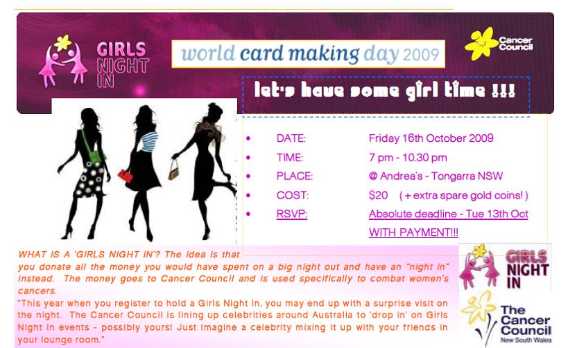 Girls Night In details