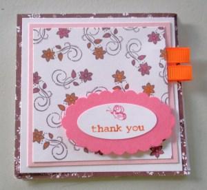 DSP Card - Boho Blossoms