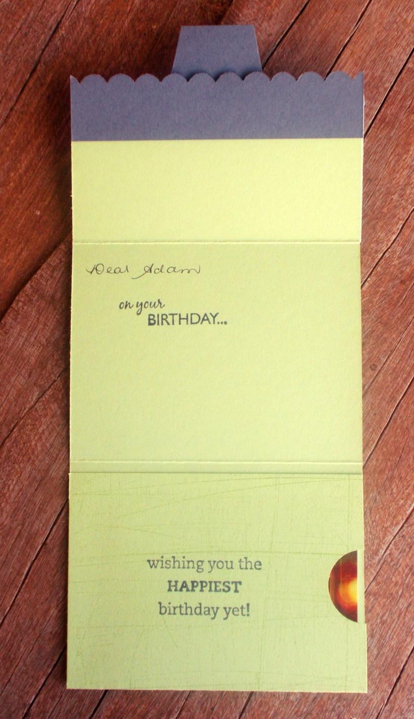 Gift Card Holder - inside