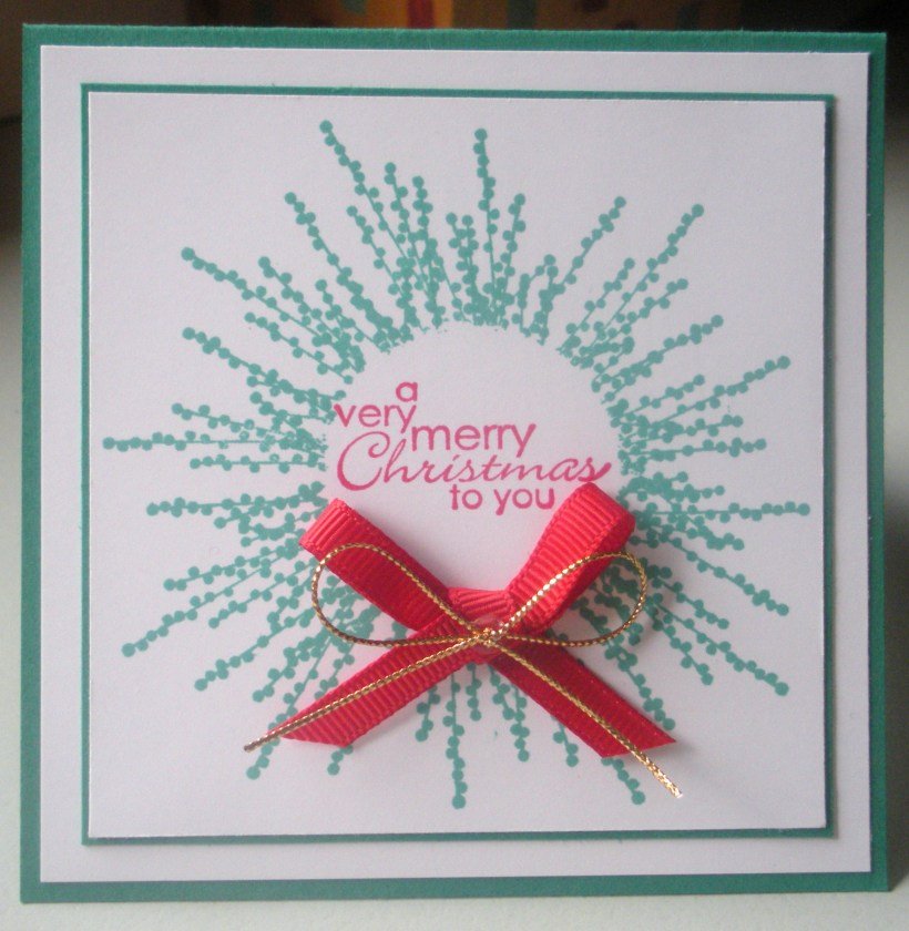 Pocket Silhouettes Christmas Wreath