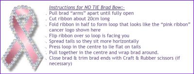 NO TIE BRAD BOW