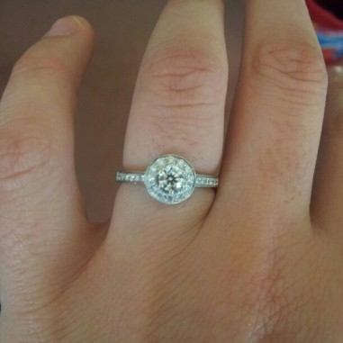 Skye's engagement ring