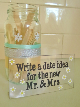 Date Night Ideas (created by bridesmaid Lil)