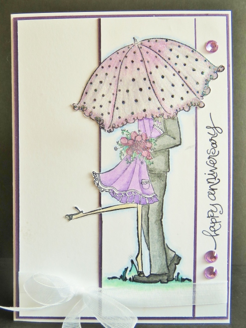 Sheree & Murray's Anniversary Card Dec'13
