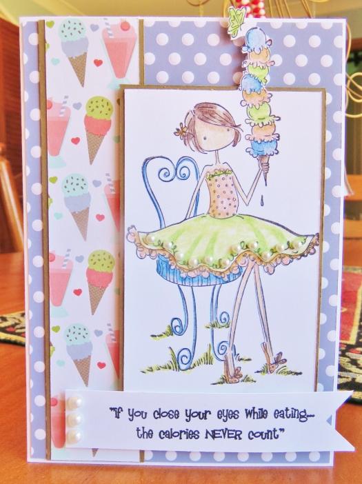 Tania's Birthday Card Dec'13