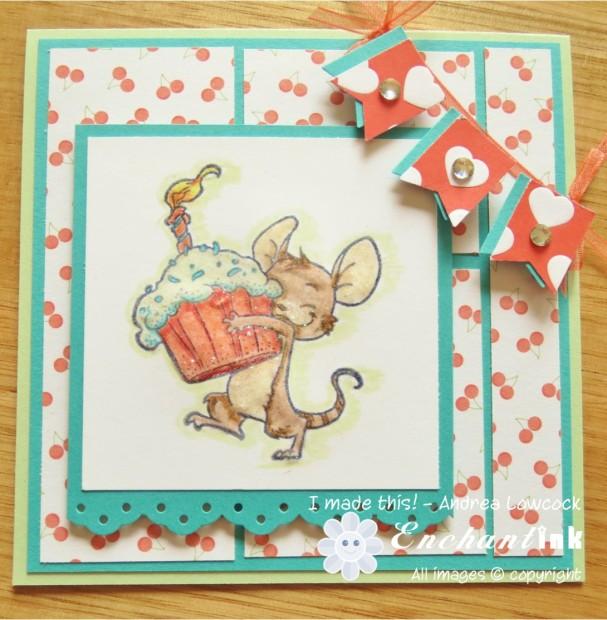 Bree's 3rd Birthday Card Apr'14