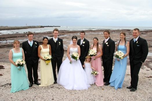 Sheree, Jamie, Melissa, Ben, Stacey, Jono, Megan, Skye, Bruce, Julie, Rick