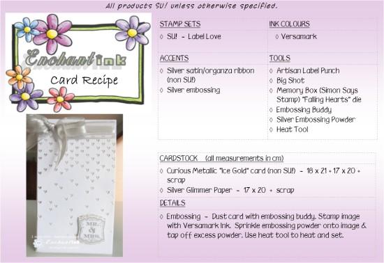 Falling Hearts T&JB'13 recipe