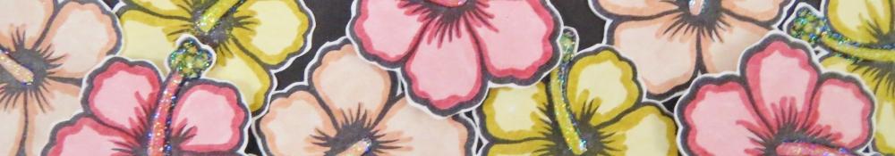 Hibiscus card LB'13 (3)