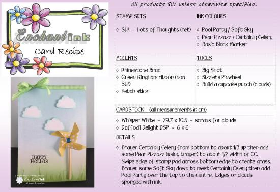 Pinwheel Hello Surya Jul'13 recipe