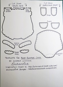 Baby Romper template