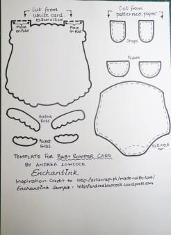 Baby Romper template