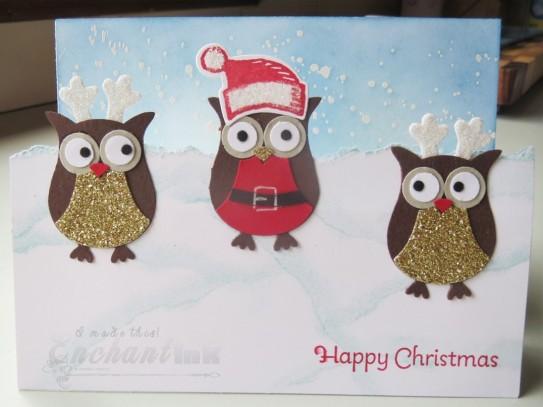 Santa & Elves Owls (2)